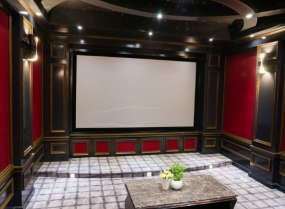 luxury home theatre