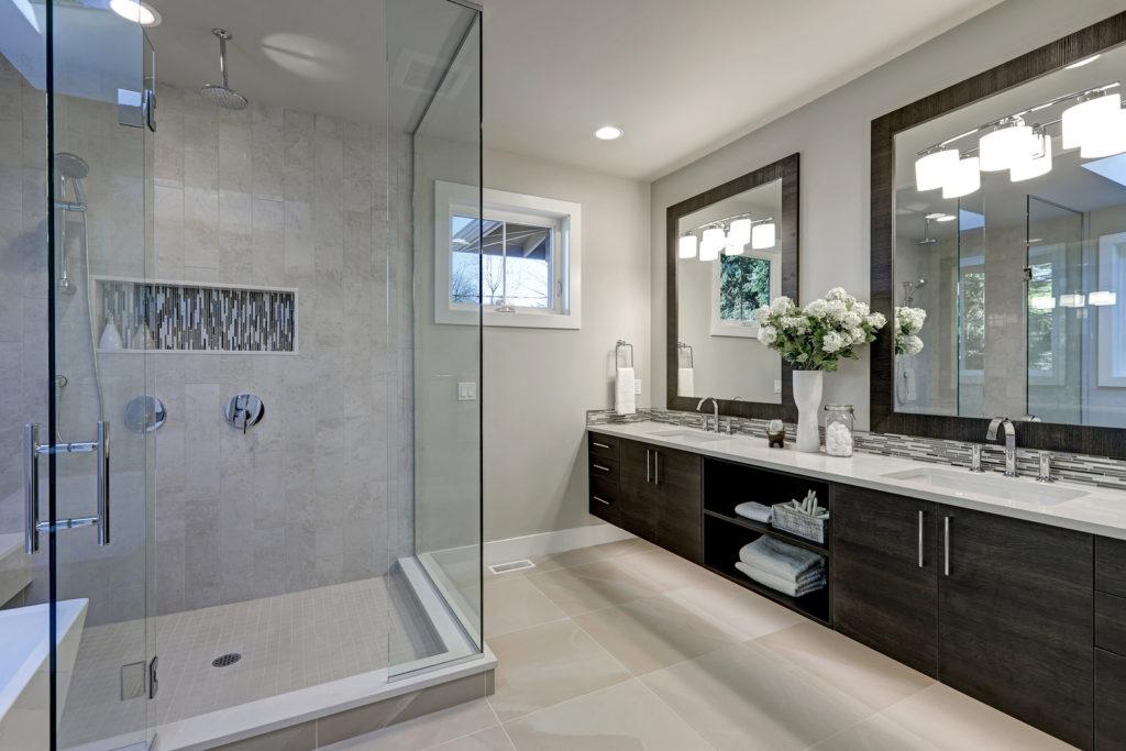 mirrors bathroom remodel burbank
