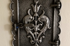 los angeles refinish 1900s door knocker-2