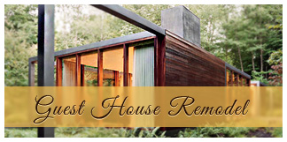 remodeled guest house